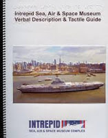 Cover of Intrepid's audio tour booklet